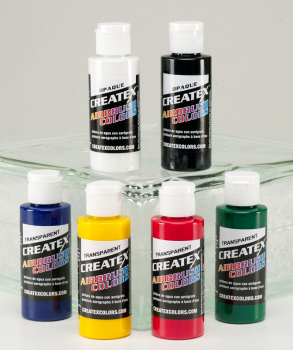 Transparent Set - Createx Airbrush Colors